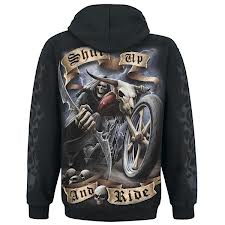 Shut up and ride Hood