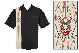 Cool Rockabilly skjorta V8