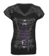 Waisted corset leatherlook