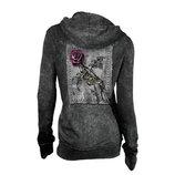 Rose patch Hood