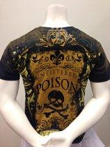 Poison -Svart T-shirt