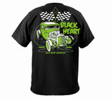 Green Rod Black Heart