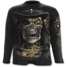 Steam Punk Reaper - Långärmad T-shirt