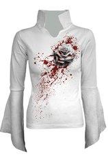 White Rose high neck